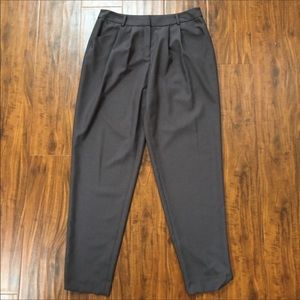 Lafayette 148 New York Slacks in Charcoal Size 8